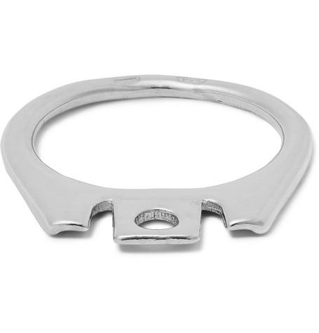 Raf Simons – Silver-tone Ring – Silver