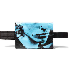 Raf Simons + Eastpak Printed Shell and Cotton-Canvas Belt Bag