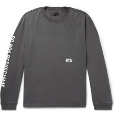 RtA Printed Cotton-Jersey T-Shirt
