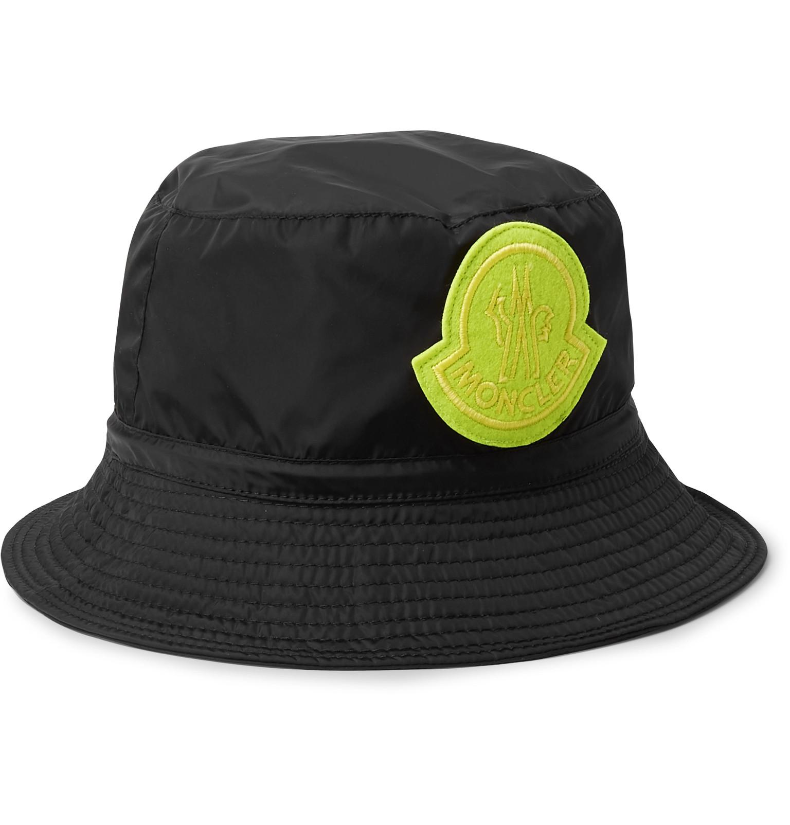 3f091c2294a Moncler Genius - 2 Moncler 1952 Logo-Appliquéd Nylon Bucket Hat