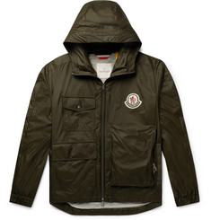 Moncler Genius 2 Moncler 1952 Bouyer Logo-Appliquéd Shell Hooded Jacket