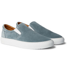 Mr P. - Larry Suede Slip-On Sneakers