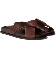 99fe89956f2 ... Sandals  110 · Mr P. - Leather and Suede Slides