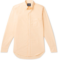 Drake's Easyday Slim-Fit Button-Down Collar Cotton Oxford Shirt