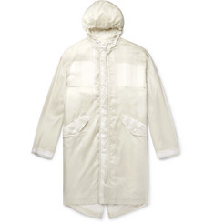 Helmut Lang Printed Nylon-Ripstop Hooded Parka with Removable Liner