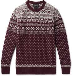 Howlin' Mr Lawrence Fair Isle Wool Sweater