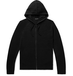 James Perse Slim-Fit Baby Cashmere Zip-Up Hoodie