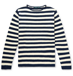 Incotex Striped Cotton Sweater