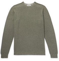 Incotex Slim-Fit Reversible Cotton-Blend Sweater