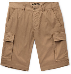 Aspesi Slim-Fit Cotton Cargo Shorts