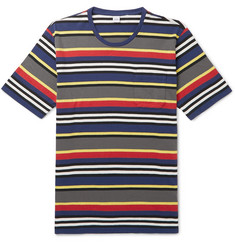 Aspesi Slim-Fit Striped Cotton-Jersey T-Shirt