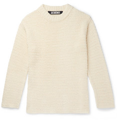 Jacquemus - Pablo Linen and Cotton-Blend Sweater