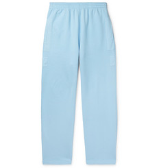 Jacquemus - Massilia Canvas-Trimmed Loopback Cotton-Jersey Sweatpants