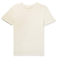 Isabel Benenato Knitted Cotton T-Shirt