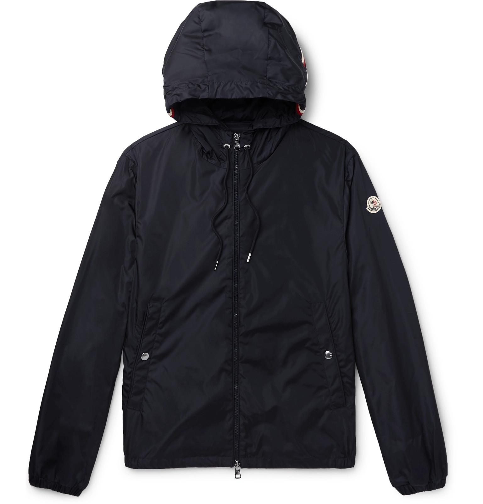 f695b2bac Moncler - Grimpeurs Stripe-Trimmed Nylon Hooded Jacket