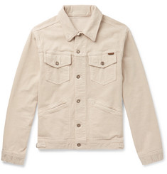 TOM FORD Washed Stretch-Cotton Corduroy Trucker Jacket