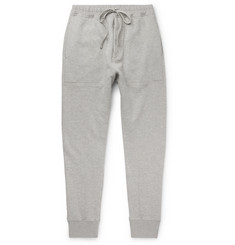 TOM FORD Slim-Fit Tapered Loopback Cotton-Jersey Sweatpants