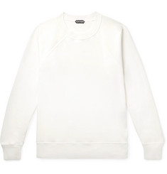 TOM FORD Garment-Dyed Loopback Cotton-Jersey Sweatshirt