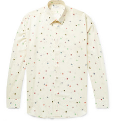 Saint Laurent Printed Wool Shirt