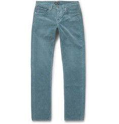 TOM FORD - Skinny-Fit Cotton-Corduroy Trousers