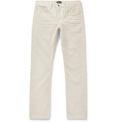 TOM FORD - Slim-Fit Stretch-Cotton Corduroy Trousers