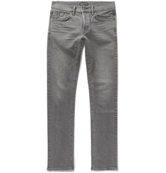 TOM FORD - Slim-Fit Selvedge Stretch-Denim Jeans