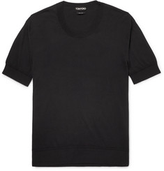TOM FORD Knitted Cotton T-Shirt