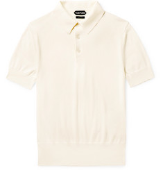 TOM FORD Slim-Fit Sea Island Cotton Polo Shirt