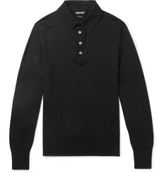 TOM FORD Sea Island Cotton Polo Shirt