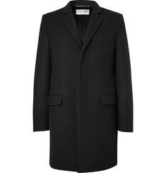 Saint Laurent Chesterfield Slim-Fit Wool-Twill Coat