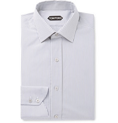 TOM FORD Baton Striped Cotton Shirt