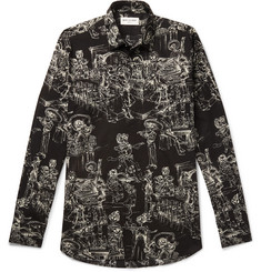Saint Laurent Printed Cotton Shirt