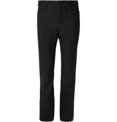 Saint Laurent Wide-Leg Virgin Wool Trousers