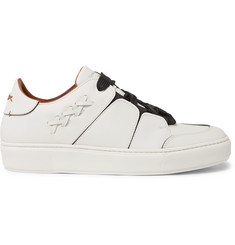 Ermenegildo Zegna Tiziano Panelled Leather Sneakers