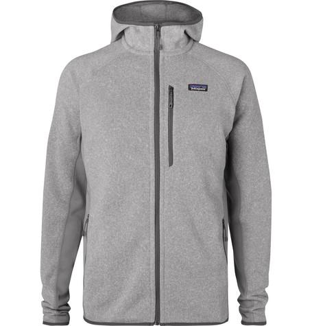 9abd09e9d49 PatagoniaPerformance Better Sweater Jersey-Panelled Fleece-Back Textured- Knit Zip-Up Hoodie