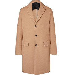 Mr P.-Virgin Wool and Camel Hair-Blend Overcoat