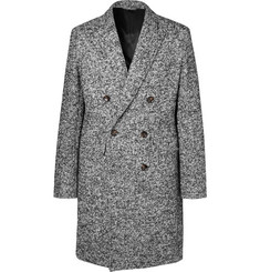 Mr P. - Double-Breasted Bouclé Overcoat
