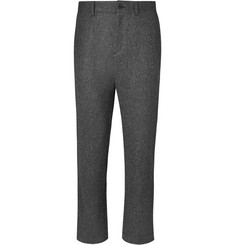 Mr P. Herringbone Brushed-Wool Trousers