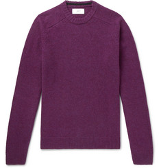 Mr P. Shetland Virgin Wool Sweater