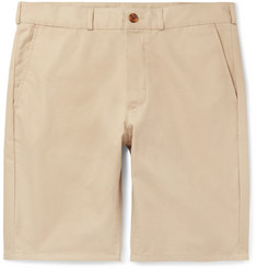 Maison Kitsuné Cotton-Twill Chino Shorts