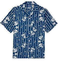 4240fdb95c5 Blue Blue Japan Camp-Collar Printed Woven Shirt