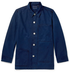 Blue Blue Japan Indigo-Dyed Cotton Chore Jacket