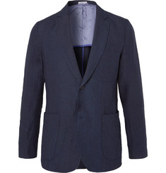 Blue Blue Japan - Indigo Slim-Fit Unstructured Linen Blazer