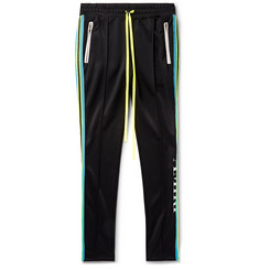 AMIRI Skinny-Fit Webbing-Trimmed Tech-Jersey Sweatpants