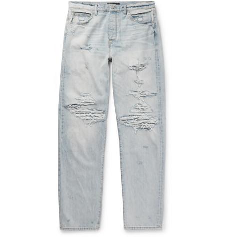 Amiri Jeans DISTRESSED DENIM JEANS