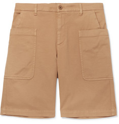 Barena Cotton-Blend Twill Shorts