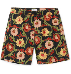 Saturdays NYC Long-Length Printed Swim Shorts