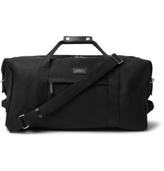 Saturdays NYC Norfolk Leather-Trimmed Cotton-Canvas Holdall