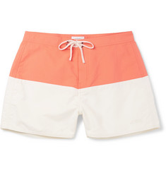 Saturdays NYC Ennis Slim-Fit Short-Length Colour-Block Swim Shorts
