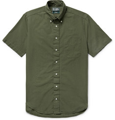 Gitman Vintage Button-Down Collar Cotton Shirt